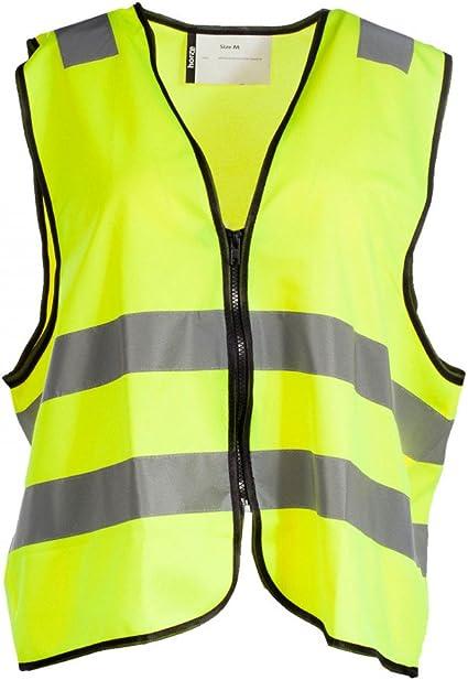 Horze Reflective Safety Zip Vest Yellow XLarge