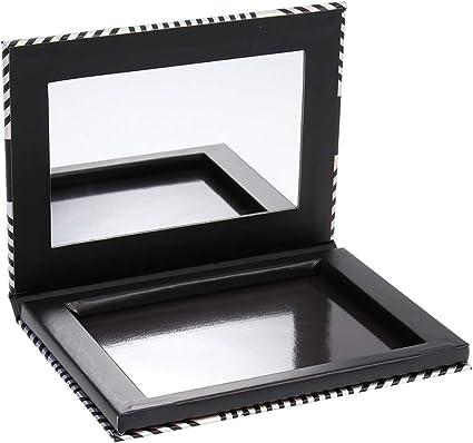 Paleta magnética vacía con espejo Organizador de sombra de ojos Caja de cosméticos de recarga creativa de bricolaje para brillo de labios Blusher: Amazon.es: Belleza