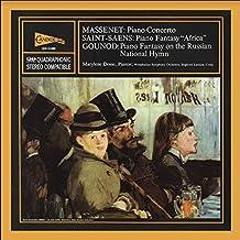 "Marylene Dosse: Piano Concerto; Piano Fantasy ""Africa""; Piano Fantasy on the Russian National Hymn"