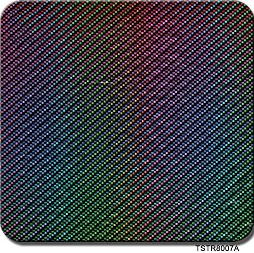 高品質 水転写印刷フィルム、ハイドログラフィックフィルム - ハイドロディップフィルム - ストライプチェック柄 - 1.0メートルマルチカラーオプション - 自動車部品、カップ、スポーツ用品などに使用されます - 使用が簡単 (Color : TSTR8007A, Size : 1mx10m)