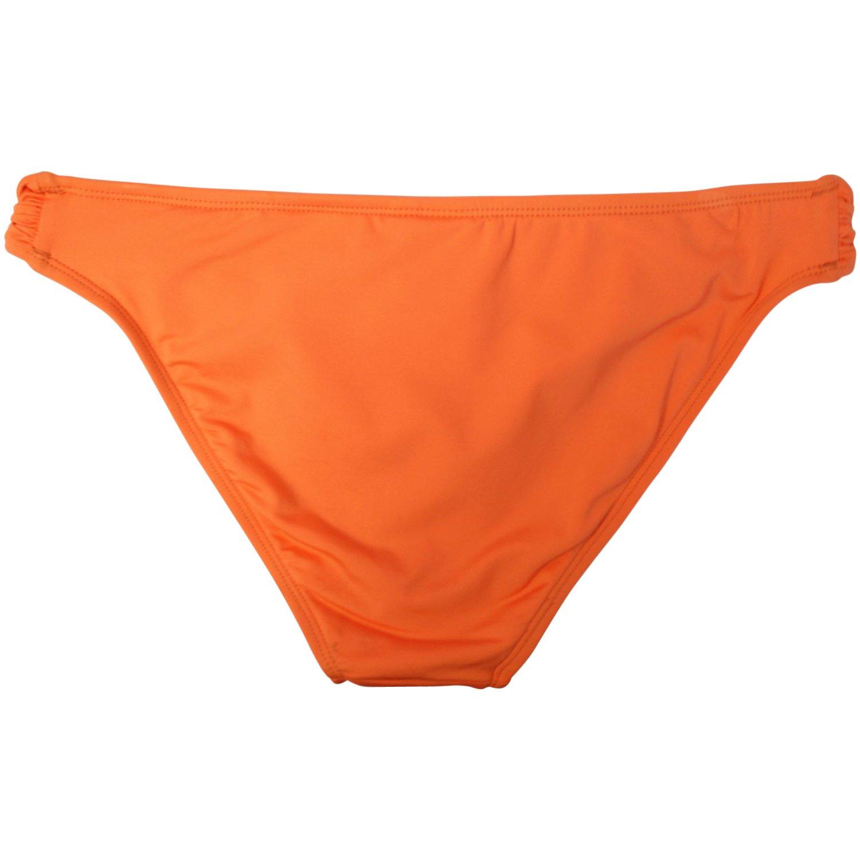 906dfb122c Amazon.com  Bar III Women s Solids Hardware Swimwear Bottom XL Coral Reef   Clothing