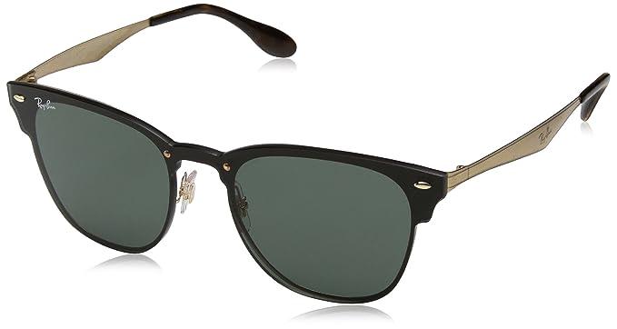 22553e1c8d11f Óculos de Sol Ray Ban Blaze Clubmaster RB3576N 043 71-41  Amazon.com ...
