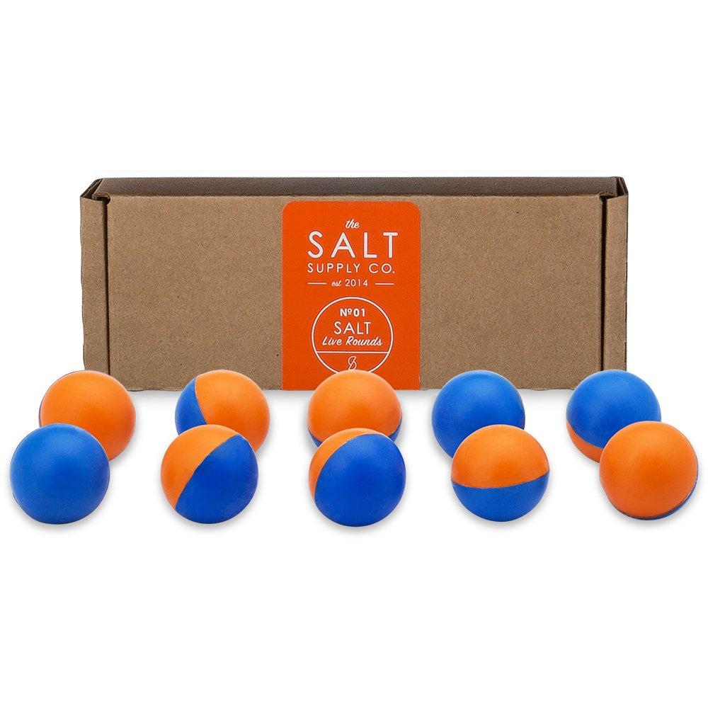 Salt Supply Pepper Spray + Tear Gas Rounds for The Self Defense Gun (10-Pack) by Salt
