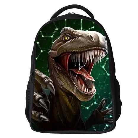 Datomarry Stylish Dinosaur Backpack Kids