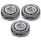 Philips SH90 S9000 Series Triple Pack Rotary Cutting Replacement Heads, Service Pack