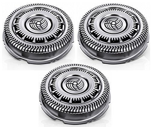 Philips SH90 S9000 Series Triple Pack Rotary Cutting Replacement Heads, Service Pack (Replacement Heads Rotary Cutting)