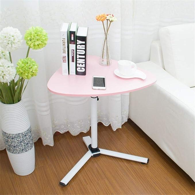 EXCLVEA-HGET Mesa pequeña Simple Altura de Soporte de Escritorio ...