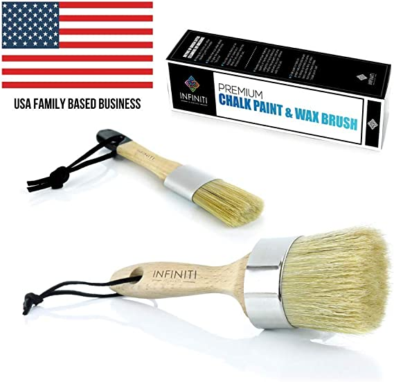Professional Chalk and Wax Paint Brush