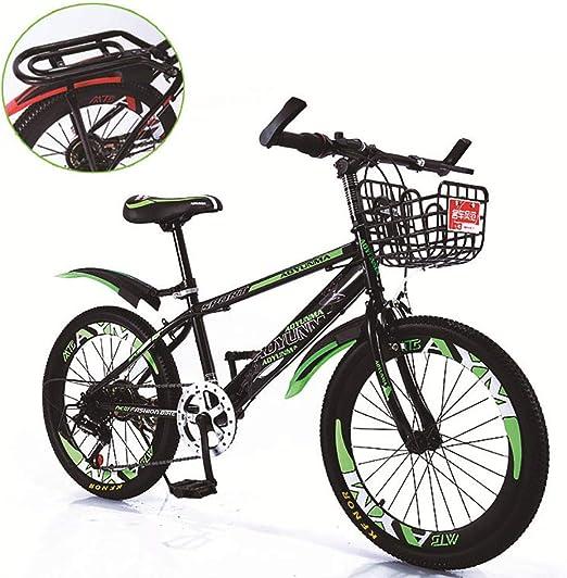 Bicicleta de montaña unisex 7 velocidad Acero de alto carbono 18 ...