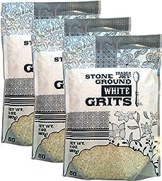 Trader Joe's Stone Ground White Grits 3 Pack