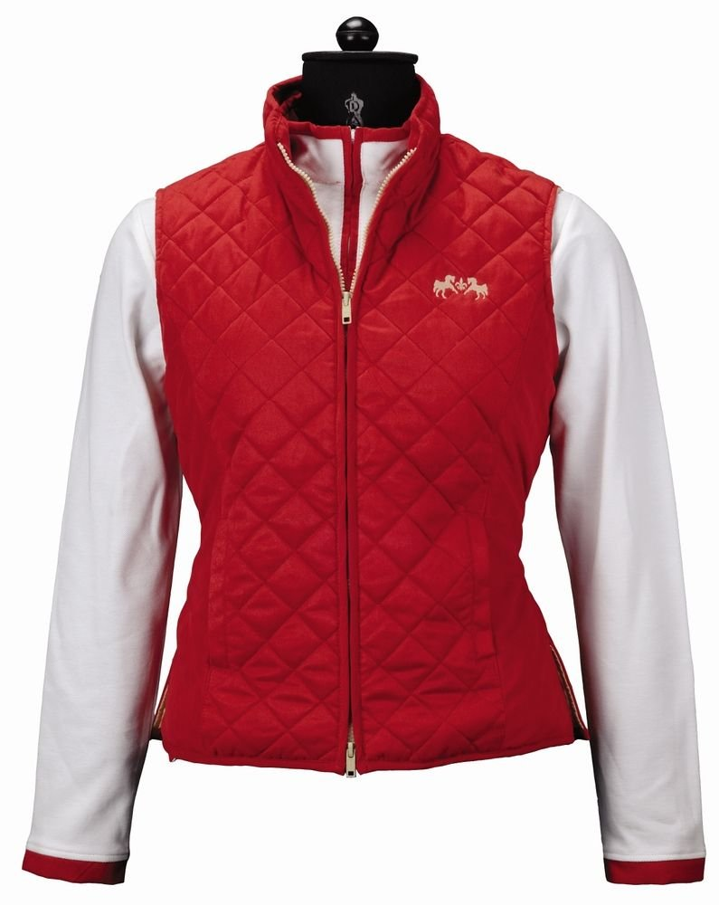 Equine Couture Women's Spinnaker Micro Suede Vest 110247-P