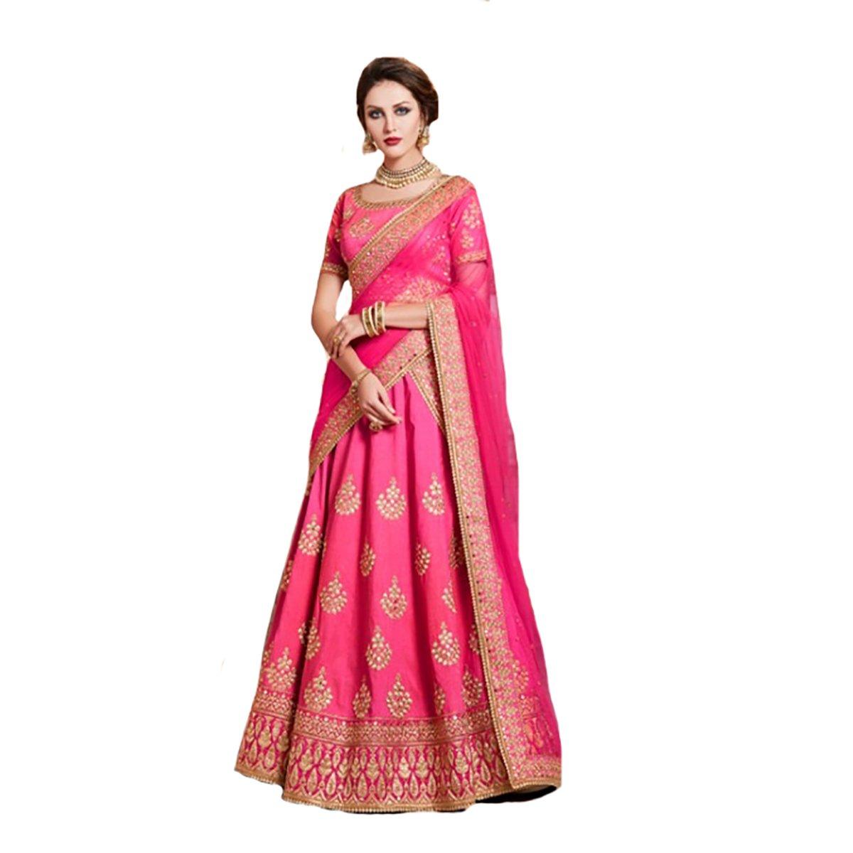 Wedding Indian Muslim Festival Women Dress Hijab Straight Lehenga Choli Salwar Kameez Suit Party Wea...
