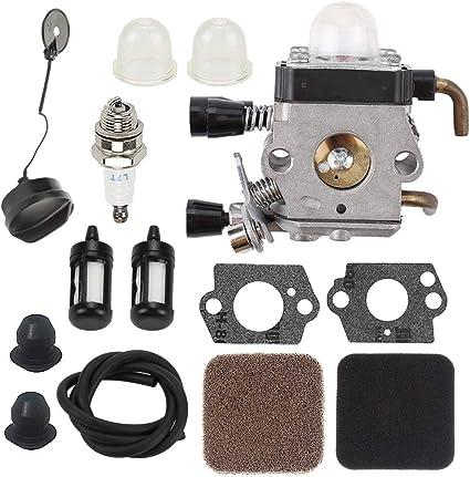 Carburetor For STIHL HS75 HS80 HS85 FS85 FS75 FS80 KM85 Air Filter Tune Up Kit