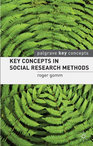 Key Concepts in Social Research Methods (Palgrave Key Concepts)