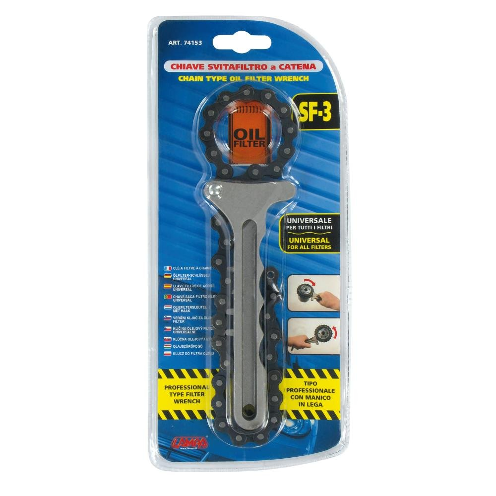 Lampa 74153 Without a Professional Filter Chain Wrench
