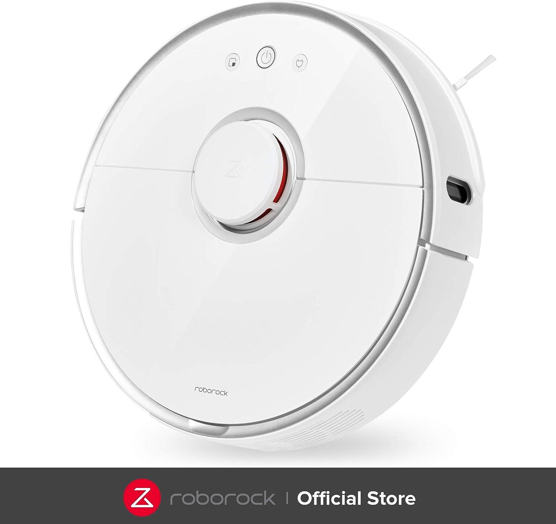 roborock S5 Robot Aspirador y Fregona, Robot Aspirador con ...