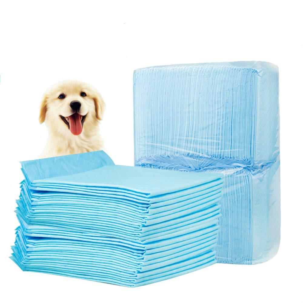 JLCYYSS Pastiglie per Cucciolo, New Super Assorbenti Cuccioli per Cani Pet Toilette per Animali Domestici Training Vasino Pipa per Gatti Cat Cacca S M XL Pad (50 PCS, 60Cm  45Cm),S