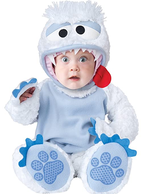 Costume carnevale yeti nevi bebè travestimento carnevale halloween cosplay  neonato tuta copriscarpe cappuccio coda staccabile costume 2e9d87c9e8b2