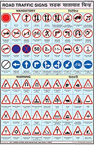 Buy Road Traffic Signs 50x75cm Book Online At Low Prices In India