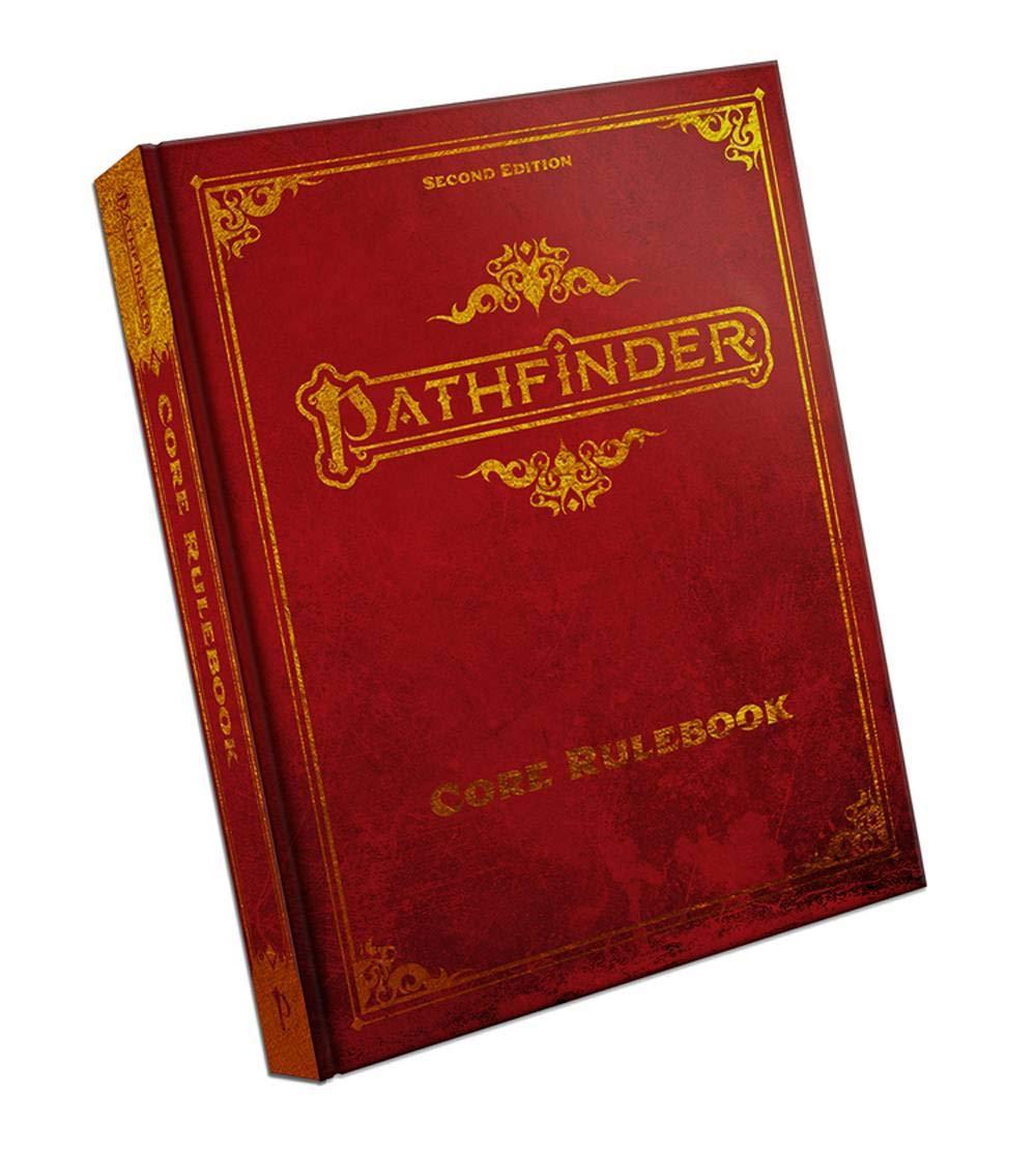 Pathfinder Core Rulebook (Special Edition) (P2): Amazon.co.uk: Bulmahn,  Jason, Bonner, Logan, Radney-MacFarland, Stephen, Seifter, Mark:  9781640781696: Books