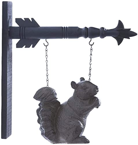 K K Interiors 40665A 12 Inch Squirrel w/Nut Looking Right Arrow Replacement