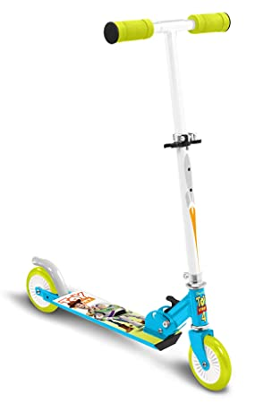 Stamp Sas- Scooter Foldable Toys Story 4, Color Blue + Green ...