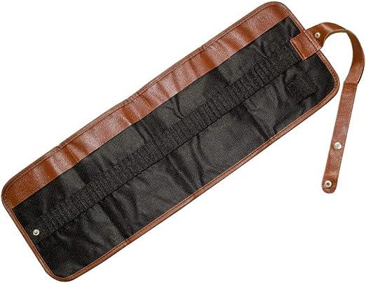 Fliyeong - Estuche de lona para lápices y bolígrafos de gran capacidad, para proteger bolígrafos, 1 unidad: Amazon.es: Amazon.es