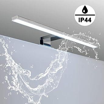 LED Spiegelleuchte - Klemmleuchte Spiegelleuchte - Badezimmer ...