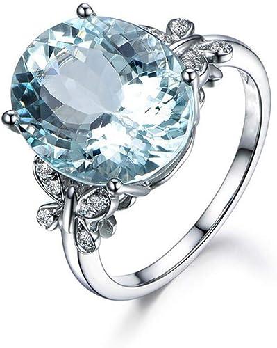 Amazon Com Pstars Blue Diamond Jewelry Wedding Band Engagement