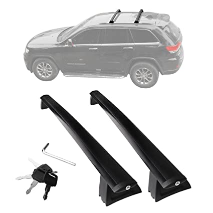 YITAMOTOR Front And Rear Roof Rack Cross Bars Set For 2011 2018 Jeep Grand  Cherokee