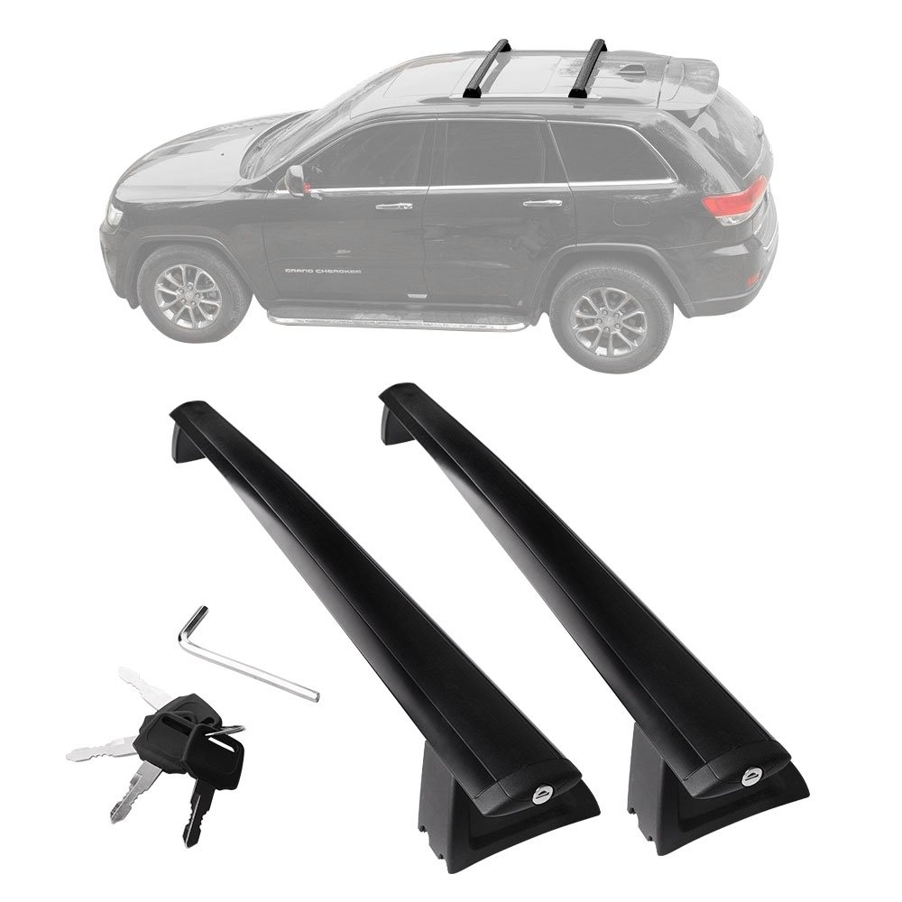 Yitamotor Cross Bars Roof Racks Compatible For 2011 2020 Jeep Grand Cherokee Rooftop Luggage Crossbars With Anti Theft Locks Carrying Cargo Carrier Bag Canoe Kayak Bike 2 Pack Buy Online In Oman