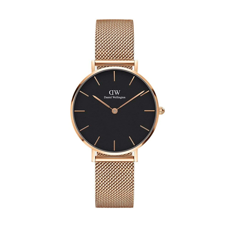 Amazon | 腕時計 レディース 32MM メッシュベルト メルローズ ローズ