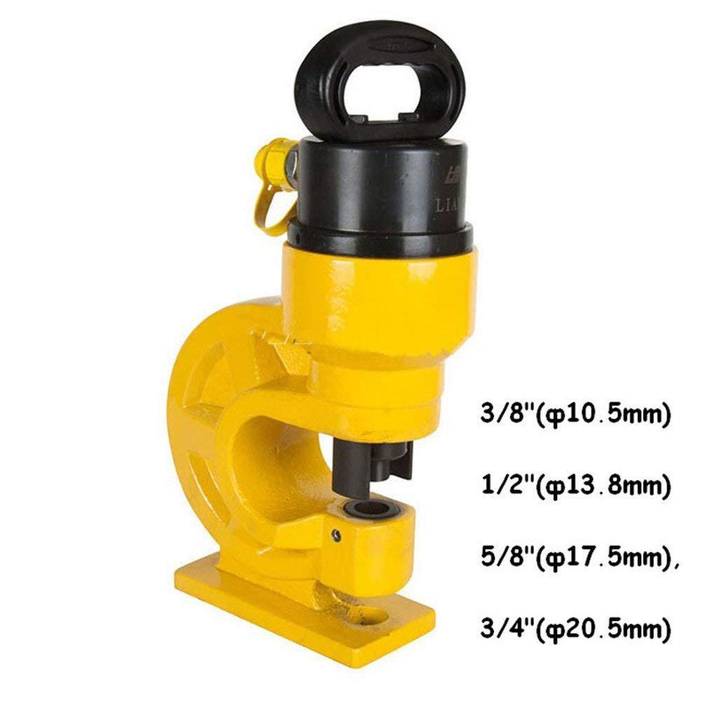 CGOLDENWALL CH-60  CH 70油圧 パンチャー バスバーパンチドラバ 4個ダイス付 (CH-60  ) B074W6868Y