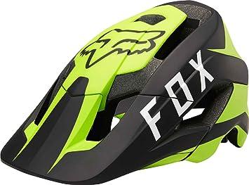 Fox Metah Flow - Casco Hombre - amarillo/negro Contorno de la cabeza XS/