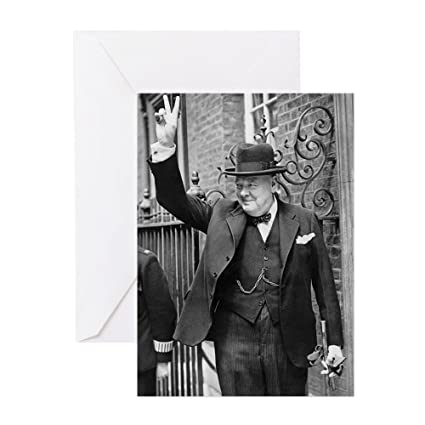 Amazon Cafepress Winston Churchill Greeting Cards Greeting