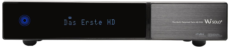 Vu Solo Receptor de TV por satélite conexión HDMI color negro importado