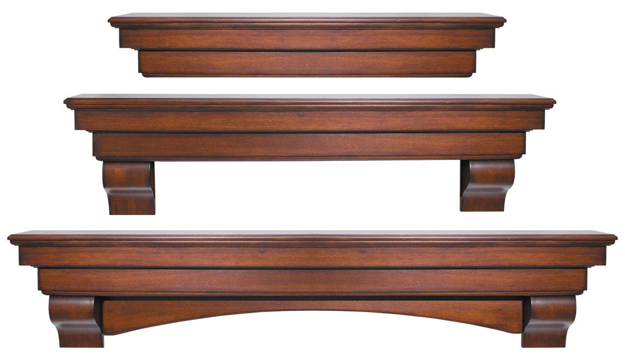 amazon com pearl mantels 495 72 70 auburn arched 72 inch wood