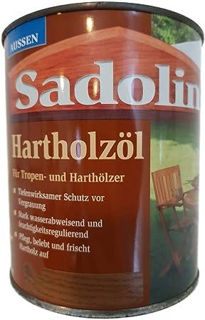 Sadolin - Aceite para madera dura (base natural, teca, 0,75 L): Amazon.es: Bricolaje y herramientas