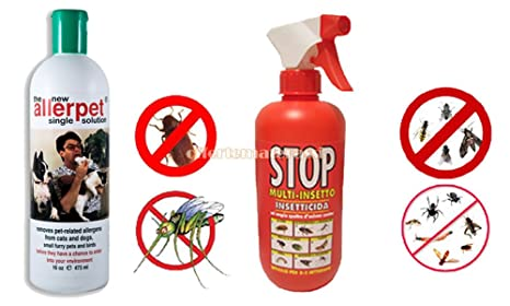 Allerpet® - Spray insecticida anti-ácaros, 375 ml - Ideal para