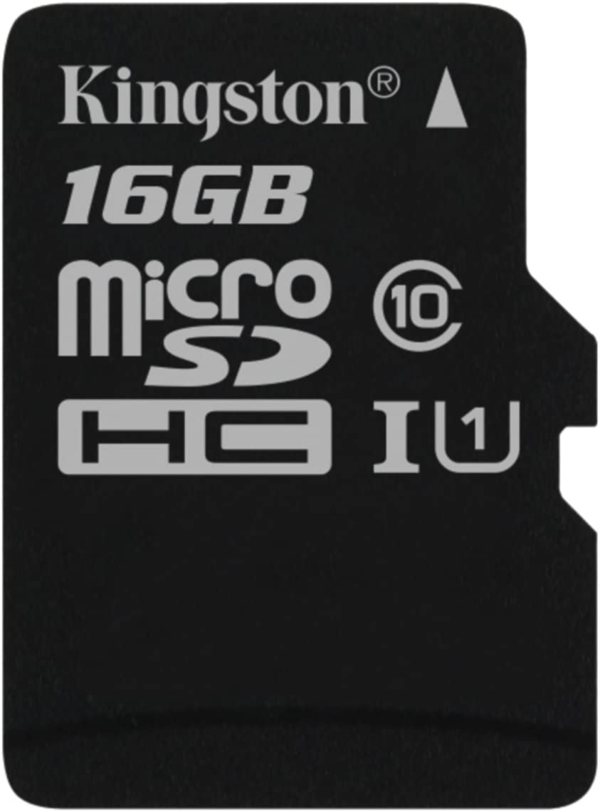 Kingston SDCS/16GBSP Canvas Select - Flash Memory Card - 16 GB - UHS-I U1/ Class10 - microSDHC UHS-I