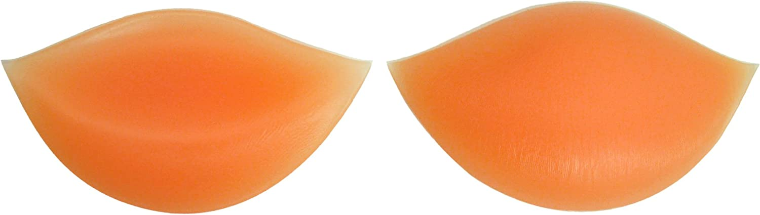 Clear Soft Silicone Inserts Chicken Fillets Breast Enhancers For Bras Swimsuits and Bikinis Skin or Black B C and D Cups Natural Cleavage Suitable for A Sodacoda 180g//pair
