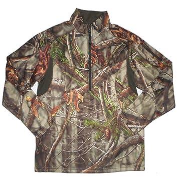 Chaqueta de caza de camuflaje biónico para hombres, camiseta de manga larga de primavera y otoño ...