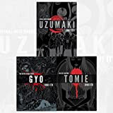Junji Ito Collection 3 Books Bundles (UZUMAKI 3-IN-1 DLX ED HC,GYO 2IN1 DLX ED HC)
