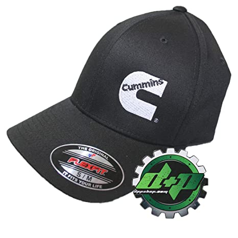 Image Unavailable. Image not available for. Color  Cummins Flexfit Flex Fit  Fitted Hat Dodge Diesel Black ... 0e77ba66a131