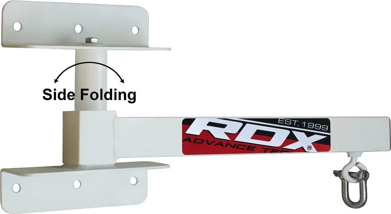 RDX Heavy Boxing Punch Bag Iron Folding Wall Mount Bracket Punching MMA Training Hanger