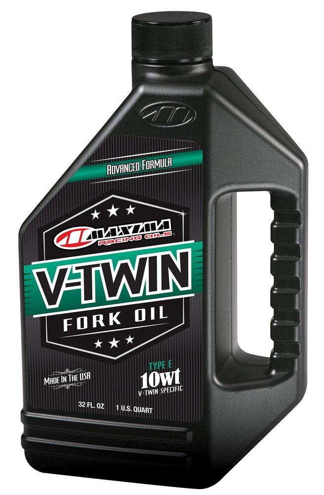 Maxima Racing Oils 50-02901 10wt V-Twin Fork Oil - 32 fl. oz.