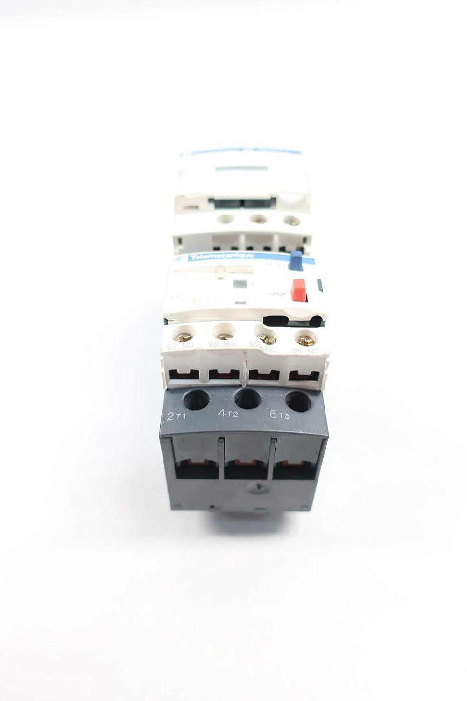 TELEMECANIQUE LC1D12 LRD07 110V-AC 10HP Full Voltage Starter
