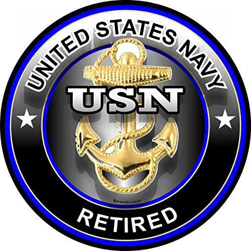 Navy Retired Decal - ProSticker 1073 (One) 4