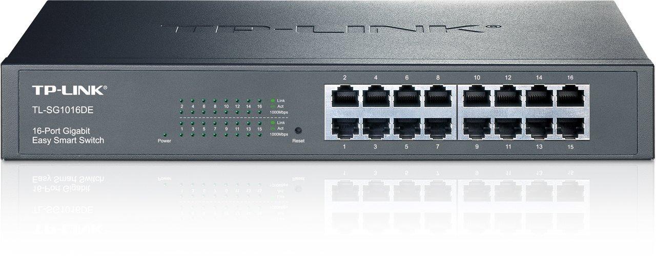 TP-LINK TL-SG1016DE 16-Port Gigabit Easy Smart Switch by TP-LINK