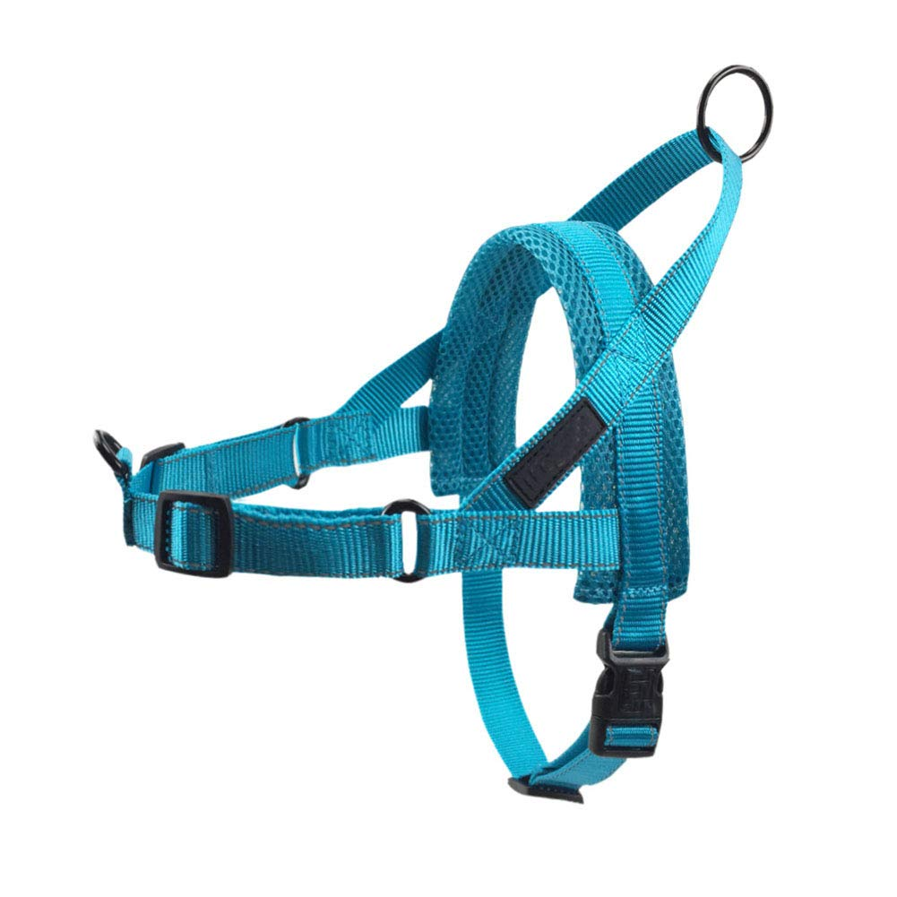 bluee Large bluee Large Reflective Pet Dog Harnesses Vest Soft Flannel Padded No Pull Strap Harness for Walking Training Small Medium Large Dogs